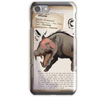 Entelodont Dossier phone case iPhone Case/Skin