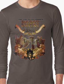 Steam Punk Robot Boxing Long Sleeve T-Shirt
