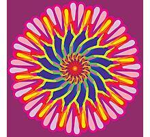 Lightning Flower Yolk of the Lightning Flower Folk Photographic Print