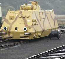 German Armoured Railcar. by Edward Denyer