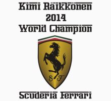 Kimi Raikkonen World Champion 2014 by jeveli
