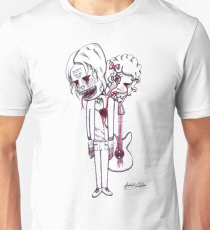 Kurt Cobain's Image of Fear Unisex T-Shirt