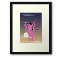 Falling fro the sky Framed Print