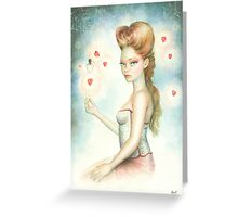 Black Widow By Scot Howden Greeting Card