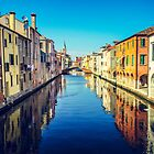 Reflections of Chioggia by Andy Parker