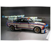 BMW Motorsport 1975 Poster