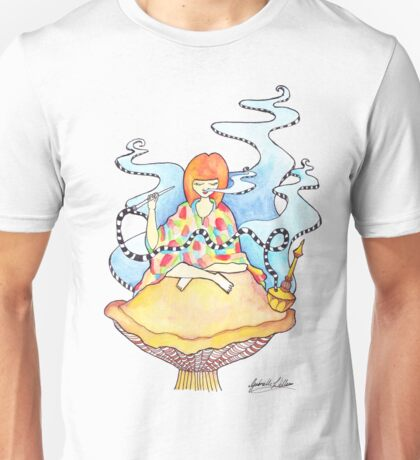 Up High On A Mushroom Unisex T-Shirt
