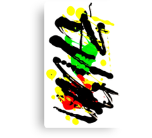 Unique Abstract Painting Canvas Print