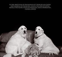 Bookends Gibran Quote by Wayne King