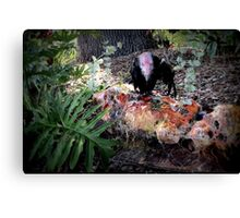 Fright Night Feast For the Eyes Canvas Print