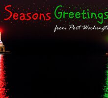 Seasons Greetings from Port Washington by James Meyer