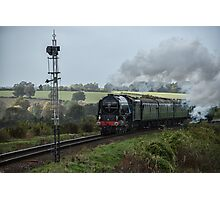 Tornado 60163 on the Watercress Line Photographic Print