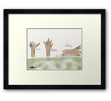 Fallen Tree Framed Print