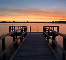 Shelley Jetty Perth Western Australia. by EOS20