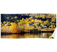 Autumn on the Kennebecasis Poster
