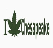 0172 I Love Chesapeake by Ganjastan