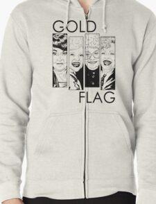 GOLD FLAG Zipped Hoodie