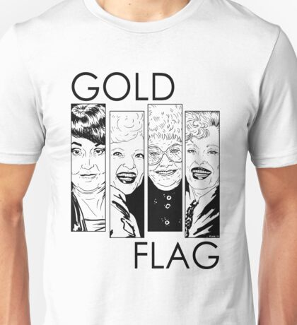 GOLD FLAG Unisex T-Shirt
