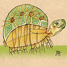 Speedy Turtle by busymockingbird