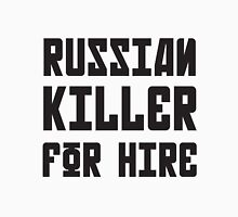 Russian Killer For Hire Unisex T-Shirt