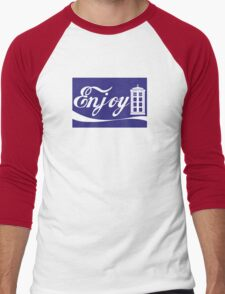 ENJOY TIME TRAVEL Men's Baseball ¾ T-Shirt