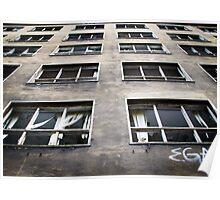 Berlin Windows Poster