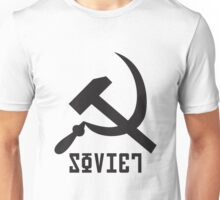 Soviet Hammer and Sickle Unisex T-Shirt