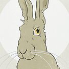 Golden Hare No.3 by Compassion Collective
