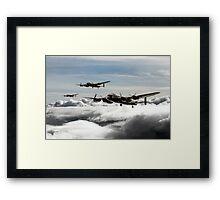 Lancaster Squadron Framed Print