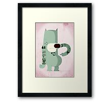 Like my tatts ? Framed Print