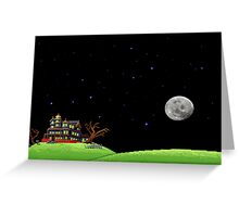 The night of the meteor 1 Greeting Card