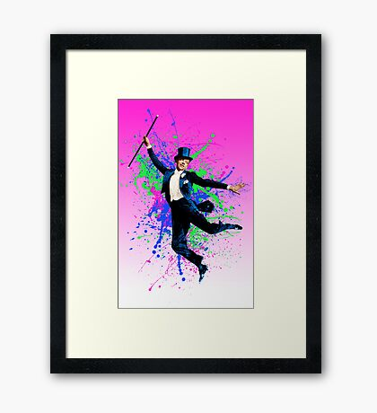 Astaire Fred, still dancing. Framed Print