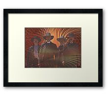 Four Horsemen - By John Robert Beck Framed Print
