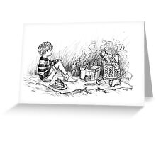 Deep in the 221 Acre Wood Greeting Card