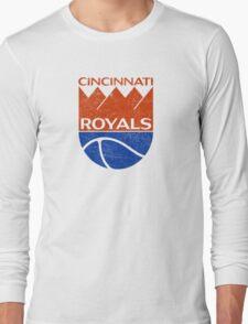Cincinnati Royals - Distressed Long Sleeve T-Shirt