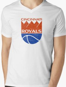 Cincinnati Royals - Distressed Mens V-Neck T-Shirt