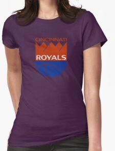 Cincinnati Royals - Distressed Womens Fitted T-Shirt