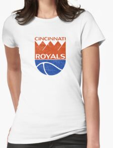 Cincinnati Royals - Distressed Womens Fitted T-Shirt