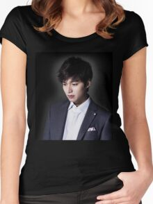 Lee Min Ho Cool Women's Fitted Scoop T-Shirt