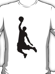 Basketball Dunk Silhouette T-Shirt