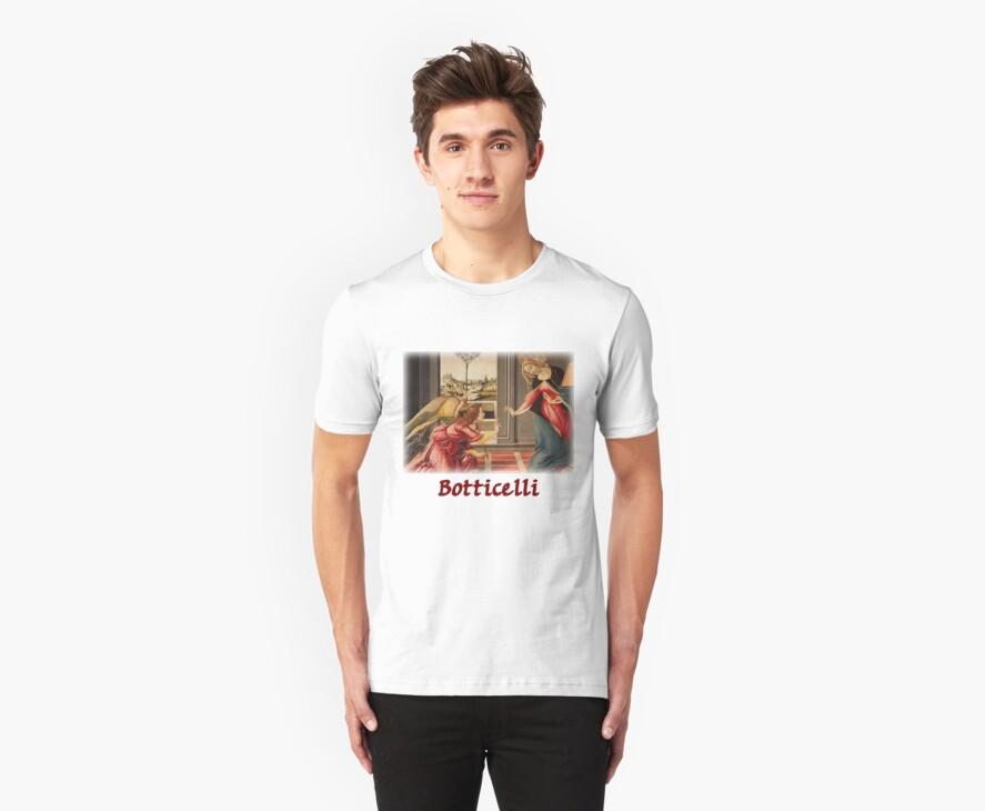 Botticelli - The Annunciation by William Martin