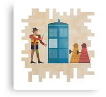 ancient doctors & daleks, oh my! Metal Print