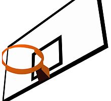 Basketball Hoop by kwg2200