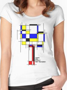 De Stijl - Trees! How Gastly! Women's Fitted Scoop T-Shirt
