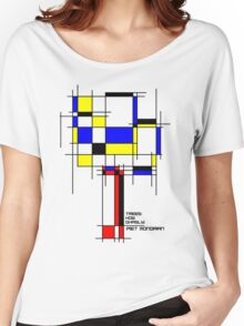De Stijl - Trees! How Gastly! Women's Relaxed Fit T-Shirt