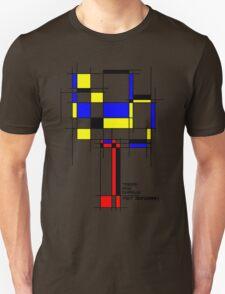 De Stijl - Trees! How Gastly! Unisex T-Shirt