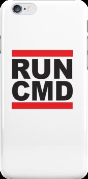Run Command Black Text by Jenny Lea
