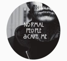 Normal People Scare Me (1000 VIEWS SPECIAL!) [B&W] by Milk & Coffee
