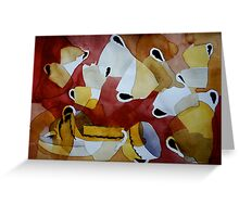 Cup above cup Greeting Card