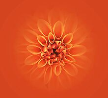 Citrus Orange Burst by edesigns14